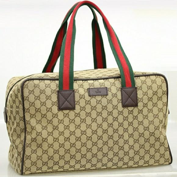 Gucci Canvas travel bag